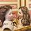 Thumbnail: Beautiful Auburn Mohair Wig for French Fashion sz. 6