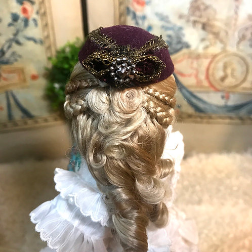 Charming Fashion Hat~Burgundy