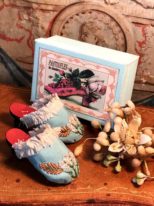 Ladies Slippers recreated from 1860