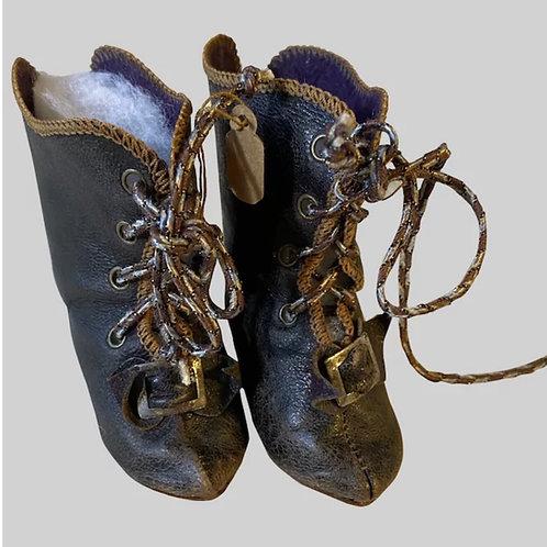 Wonderful French Fashion Boots sz. 8
