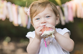 cake smash photography in montgomery county, md