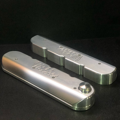 WPLSVCR4B  - LS BILLET VALVE COVERS