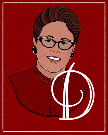 D is for Doris Akers