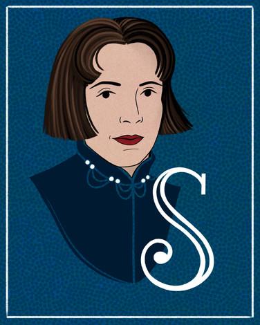 S is for Sophie Carmen Eckhardt-Gramatte