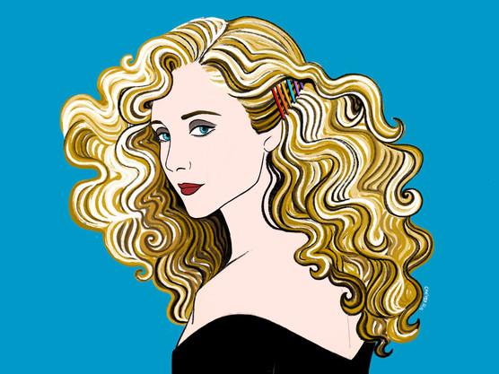 Carol Kane's Giant Hair