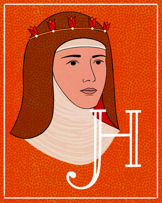 H is for Hildegard von Bingen
