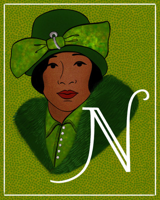 N is for Nora Holt