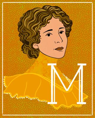 M is for Melanie Bonis