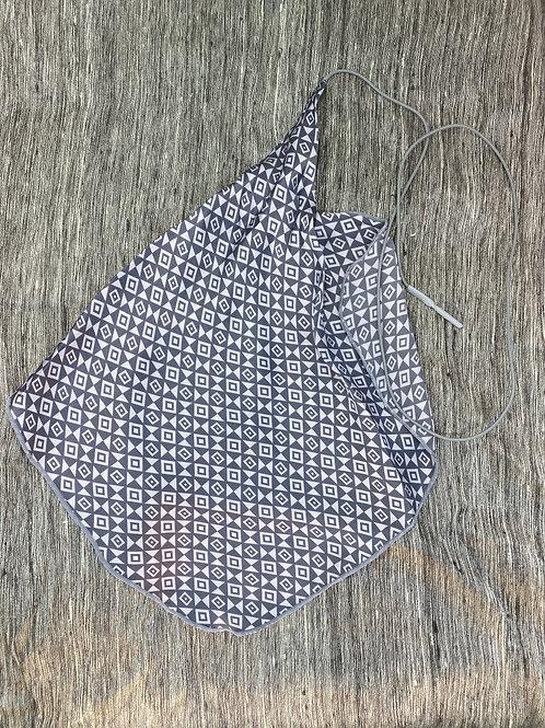 Clarinet Swab: Gray Geometric