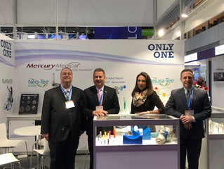 Mercury Medical Introduces CarboTrack™ to the European Market, MEDICA 2018