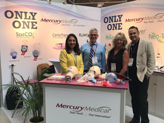 Mercury Medical Launches CarboTrack™ in Europe and Beyond
