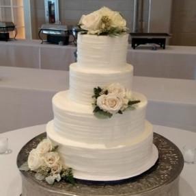 Signature Wedding Cake - Simple.