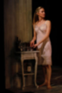 Amanda McCallum in Cat on a Hot Tin Roof