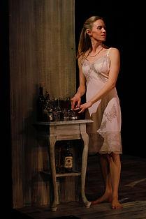 Amanda McCallum in Cat on a Hot Tin Roof