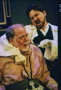 Evan Thompson and Warren Kelley in The Good Doctor