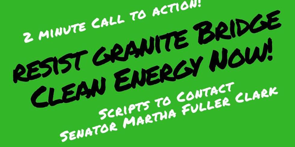 Resist Granite Bridge Pipeline: 2 minute action! (scripts included!)