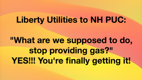 """Liberty Utilities to PUC: What are we supposed to do, stop providing gas?"""""""