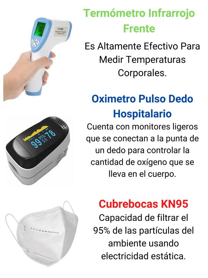 Termómetro Infrarrojo Frente Sin Contact