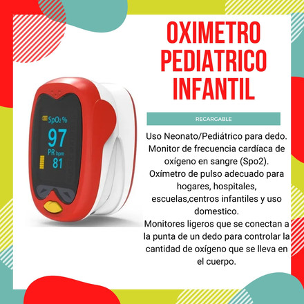 Oximetro pediatrico