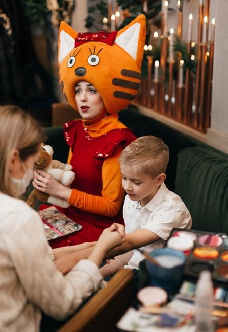Анимация для детей, детский аниматор, ресторан Lomonosov Gastrobar