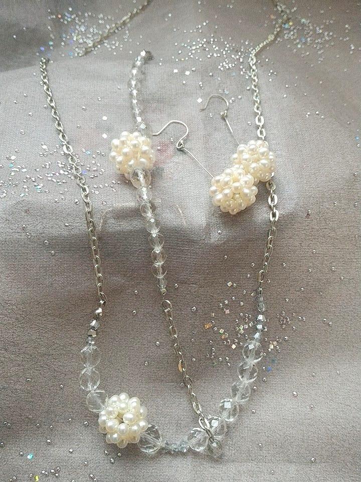 Crystal Pearl set