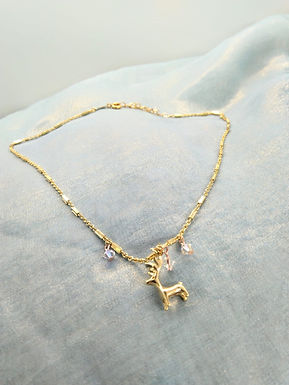 頸鍊Necklace/Swarovski施華洛世奇水晶/鍍金Gold-plated