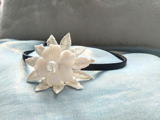 頭箍Hair accessories/白瑪瑙White Agate/白水晶Crystal