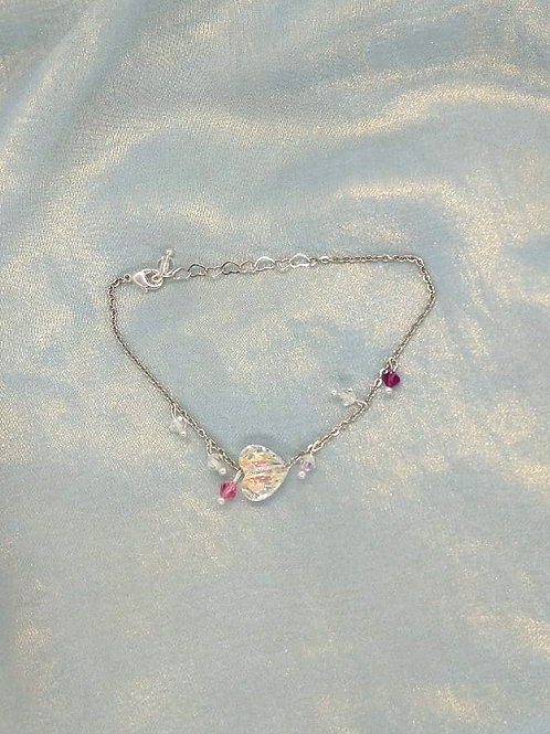Bracelet手鍊/Swarovski施華洛世奇水晶(10mm)(4mm)/Gold-plated鍍金