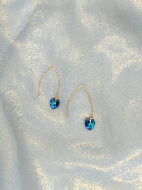 耳環Earrings/Swarovski/Gold-plated