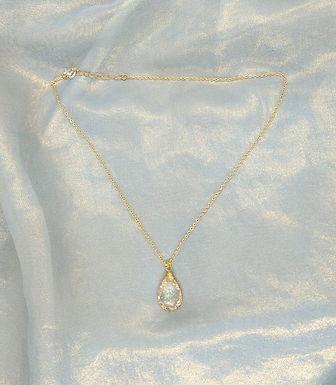 頸鍊Necklace/樹脂Resin(綠)/Gold-plated鍍金