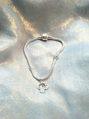 Bracelet手鍊/Swarovski施華洛世奇水晶(14mm)/Silver 純銀