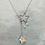 Thumbnail: 頸鍊Necklace/白水晶Crystal/Swarovski施華洛世奇水晶/鍍金Gold-plated