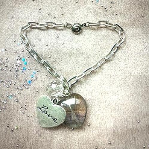 -Bracelet手鍊 /-Crystal水晶/ -Fluorite紫螢石