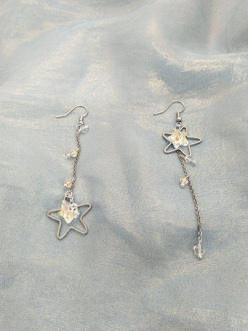 Earrings耳環/Swarovski施華洛世奇水晶/Gold-plated鍍金
