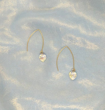 耳環Earrings/Swarovski/Gold-plated