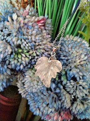 Necklace頸鍊 /Rose Quartz 粉晶(25mm) -Gold-plated 鍍金