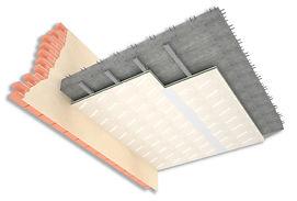 Izolatie fonica tavan simplu. Bucuresti. izomag Construct