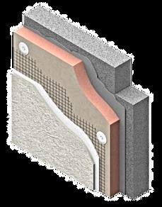 Izolatie termica perete exterior. Bucuresti. Izomag Construct