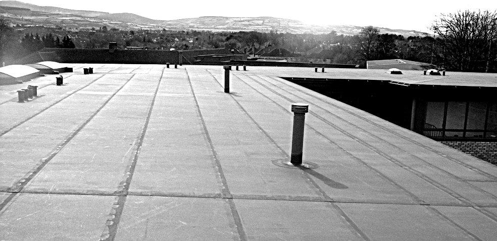 Hidroizolatii terase cu PVC. Bucuresti. Izomag Construct