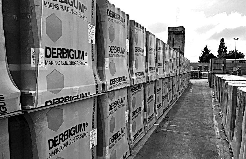 Derbigum. Hidroizolatii terase Izomag Construct Bucuresti