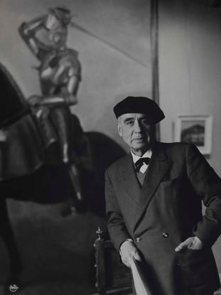 Retrato de Vazquez Diaz.Hacia 1940