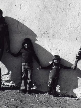 La familia de Carlos. 1975