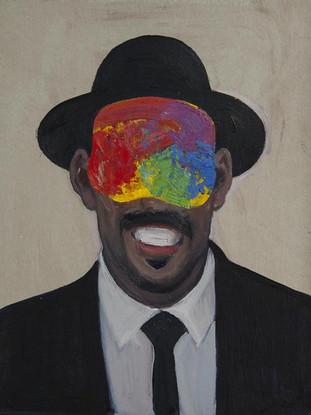 Retrato de un artista de vanguardia