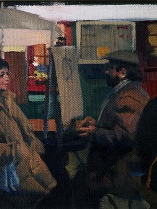 Un pintor en Montmartre