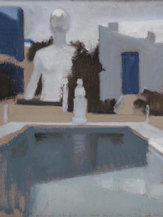 RAFEL BESTARD (Palma de Mallorca, 1967)Sin título. Estudio (2013). Óleo sobre lienzo, 42x34 cms.