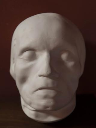 Mascarilla mortuoria de Beethoven Réplica de la original de 1827 en escayola