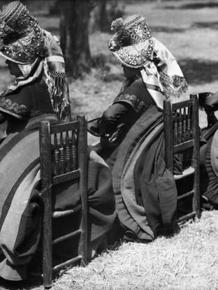 Aldeanas de Montermoso. Hacia 1920