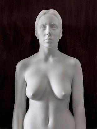 Ana (Obra realizada conjuntamente por Antonio López García y Andrés García Ibáñez)