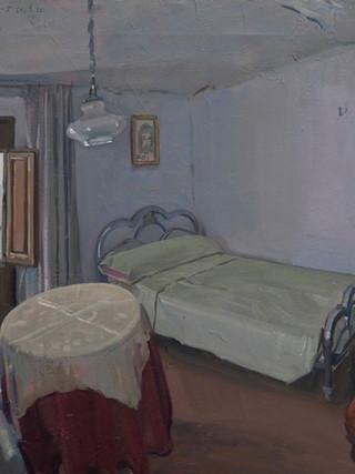 La casa de Albox. Salita de estar y dormitorio