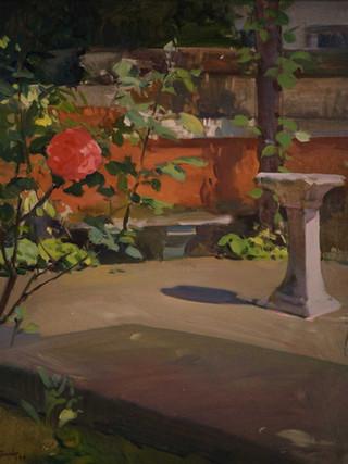 El jardín de Juan Lamela, Londres